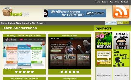 boxedcss homepage