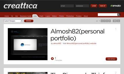 creattica homepage