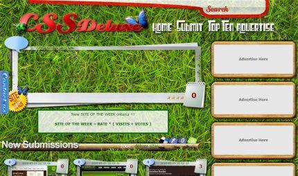 cssdeluxe homepage