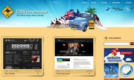 cssdownunder homepage