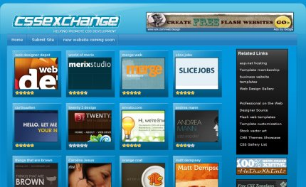 cssexchange homepage