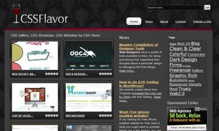 cssflavor homepage