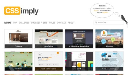 cssimply homepage