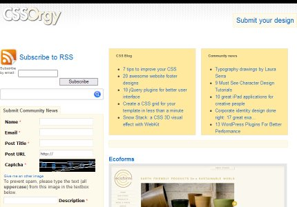 cssorgy homepage