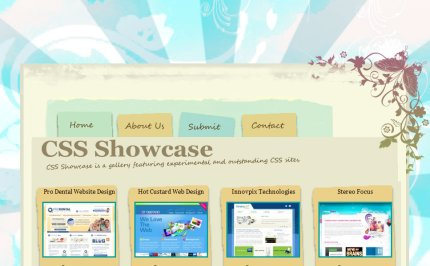 cssshowcase homepage