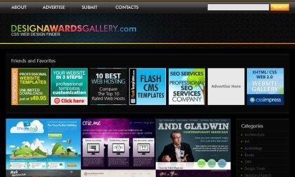 designawardsgallery homepage