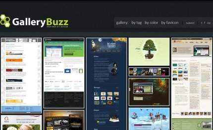 gallerybuzz homepage