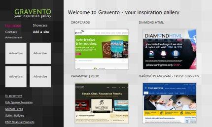 gravento homepage