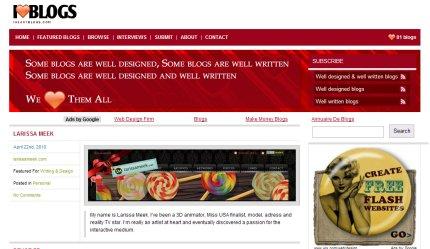 iheartblogs homepage