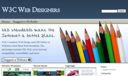 w3cwebdesigners homepage