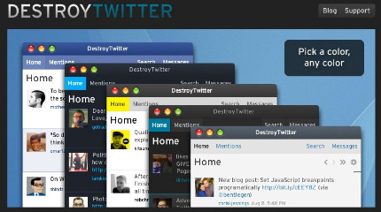 WebOffspring » 5 Twitter clients you might not know but you